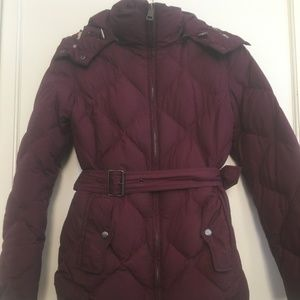Authentic Burberry Brit Quilted Puffer Jacket